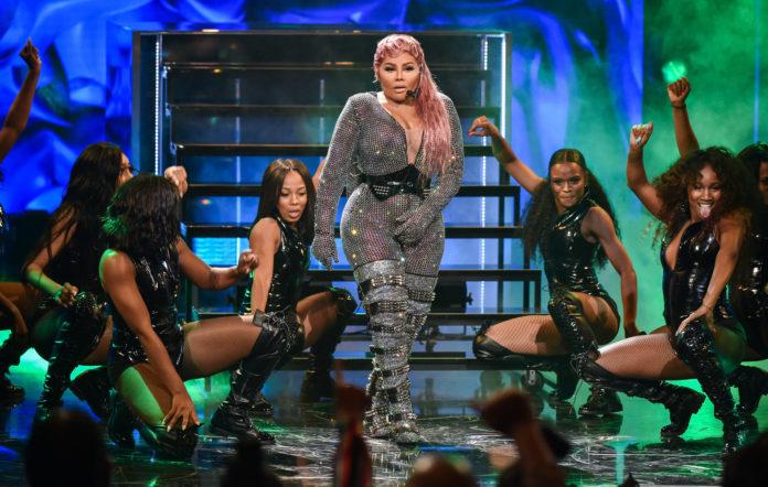 Lil Kim at the BET Awards