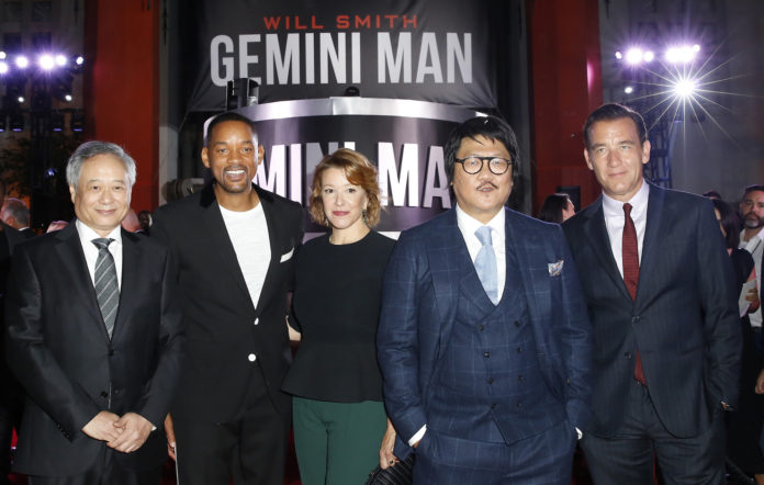 Will Smith at premiere of 'Gemini Man'