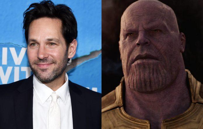 Paul Rudd and Avengers: Endgame's Thanos