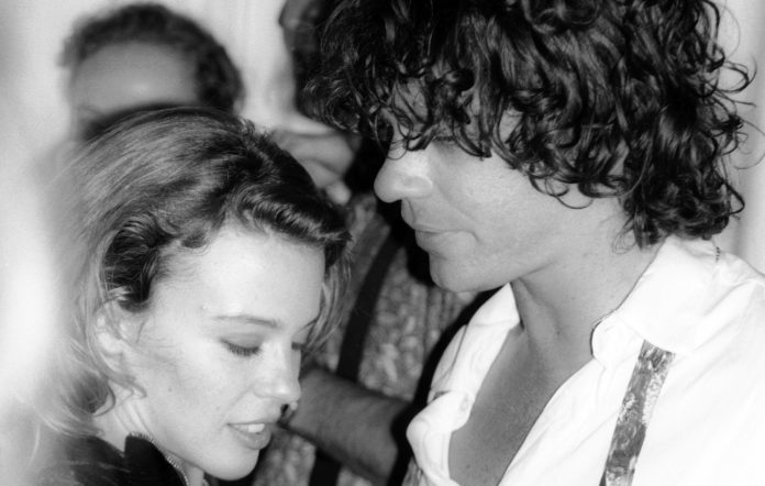 Kylie Minogue and INXS's Michael Hutchence