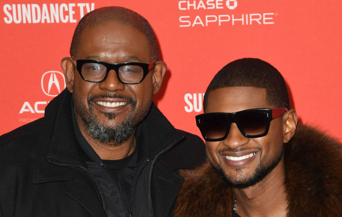 Forest Whitaker and Usher