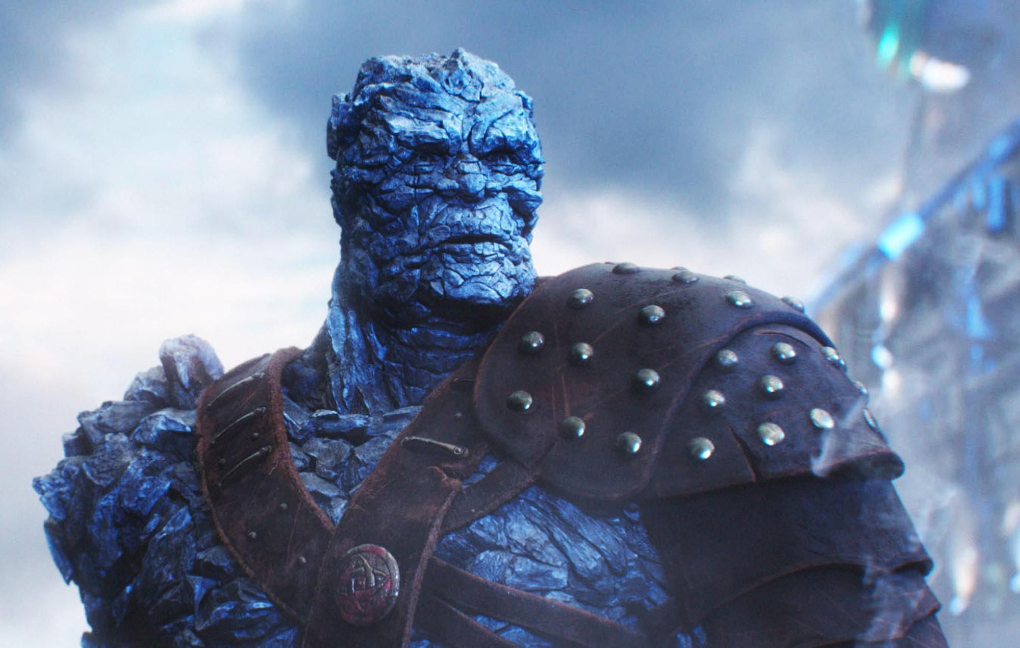 Korg in 'Thor: Ragnarok'