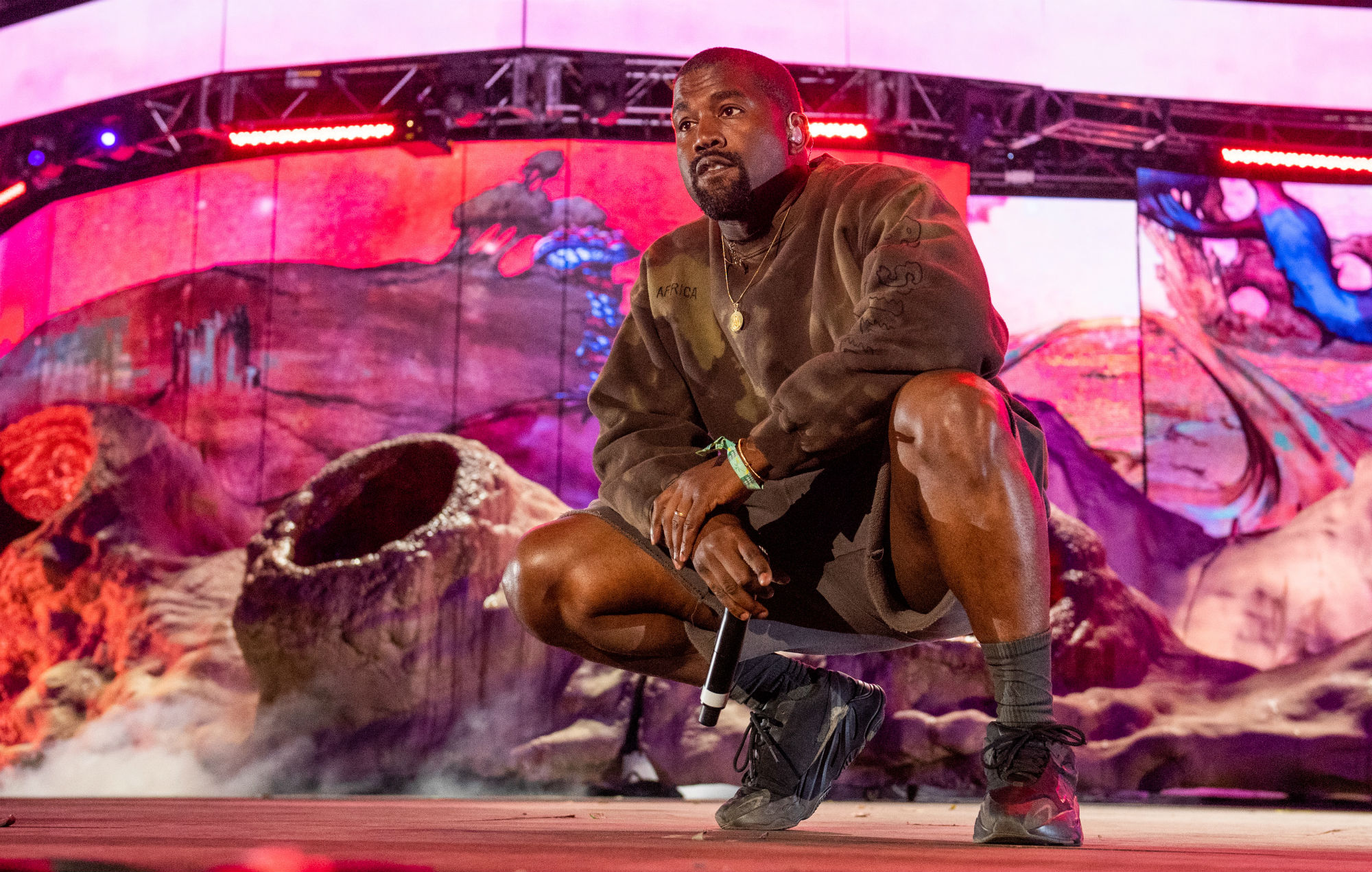 Kanye West's record producer gives worrying update about 'Jesus Is King'