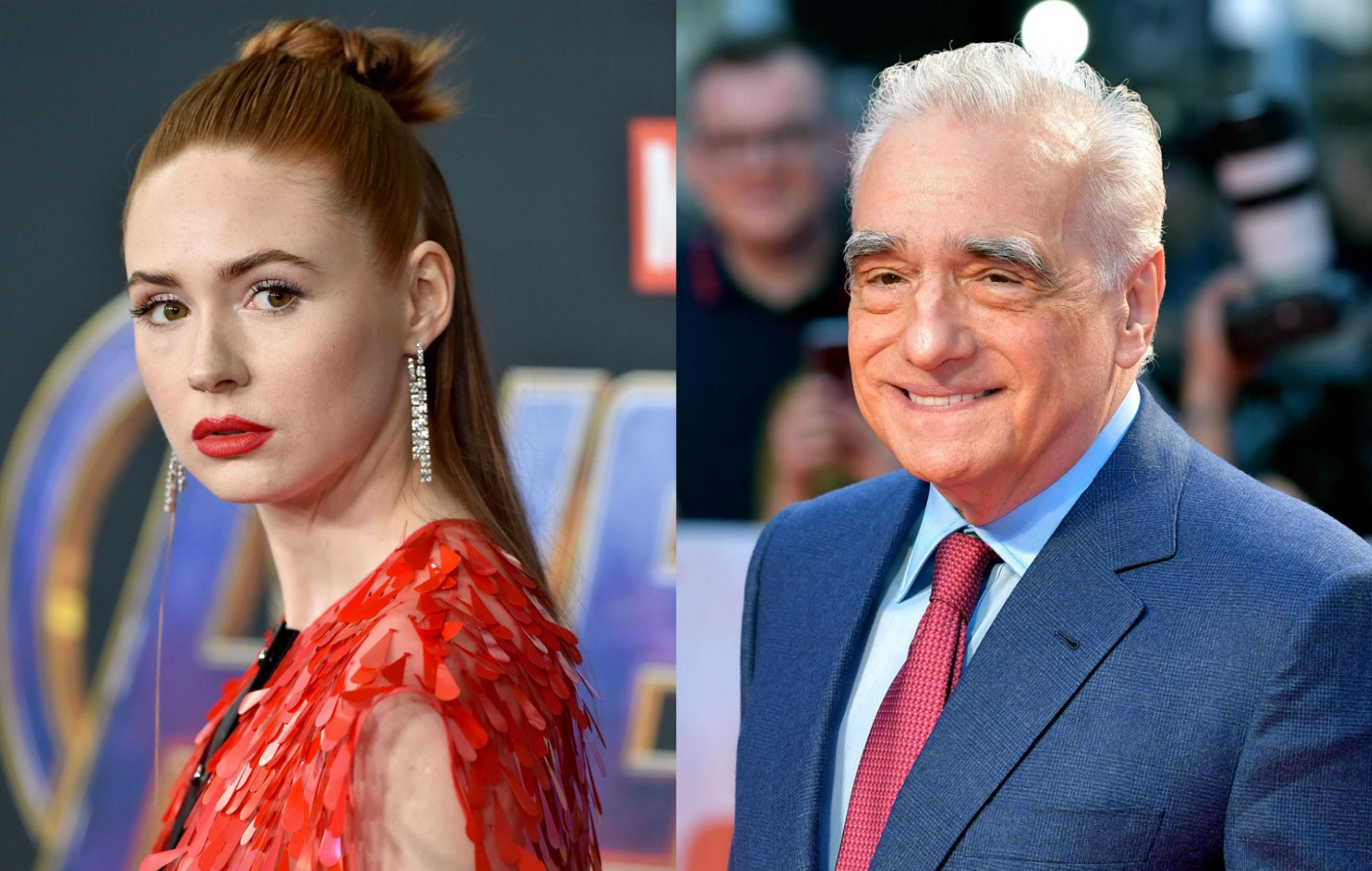 Karen Gillan defends Marvel movies against Martin Scorsese comments