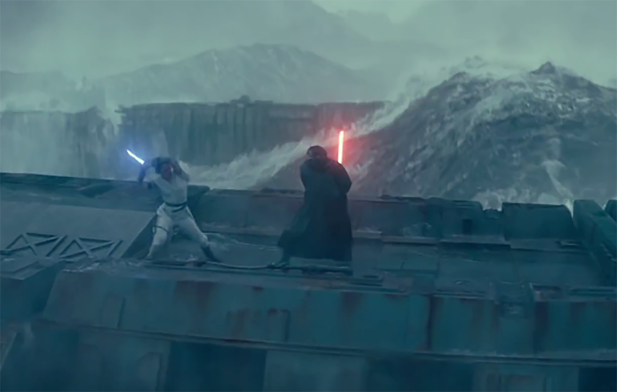 Star Wars Reveal What S Destroyed By Kylo Ren And Rey In Rise Of Skywalker Trailer