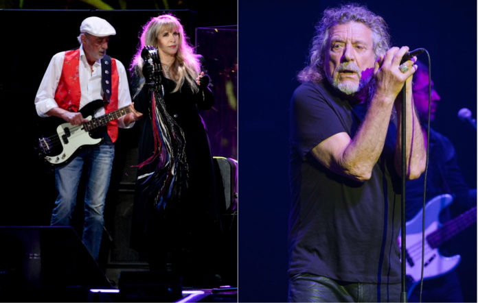 Fleetwood Mac Tour 2020.Fleetwood Mac And Led Zeppelin Ruled Out Of Playing