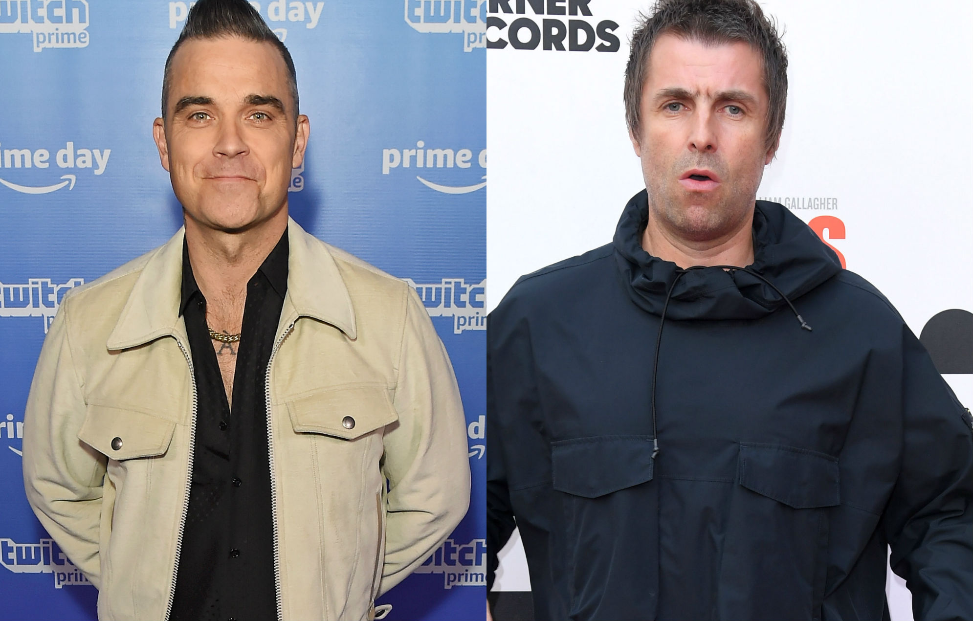 Robbie Williams, Liam Gallagher