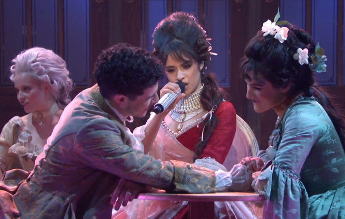 Camila Cabello performs 'Cry To Me' on SNL