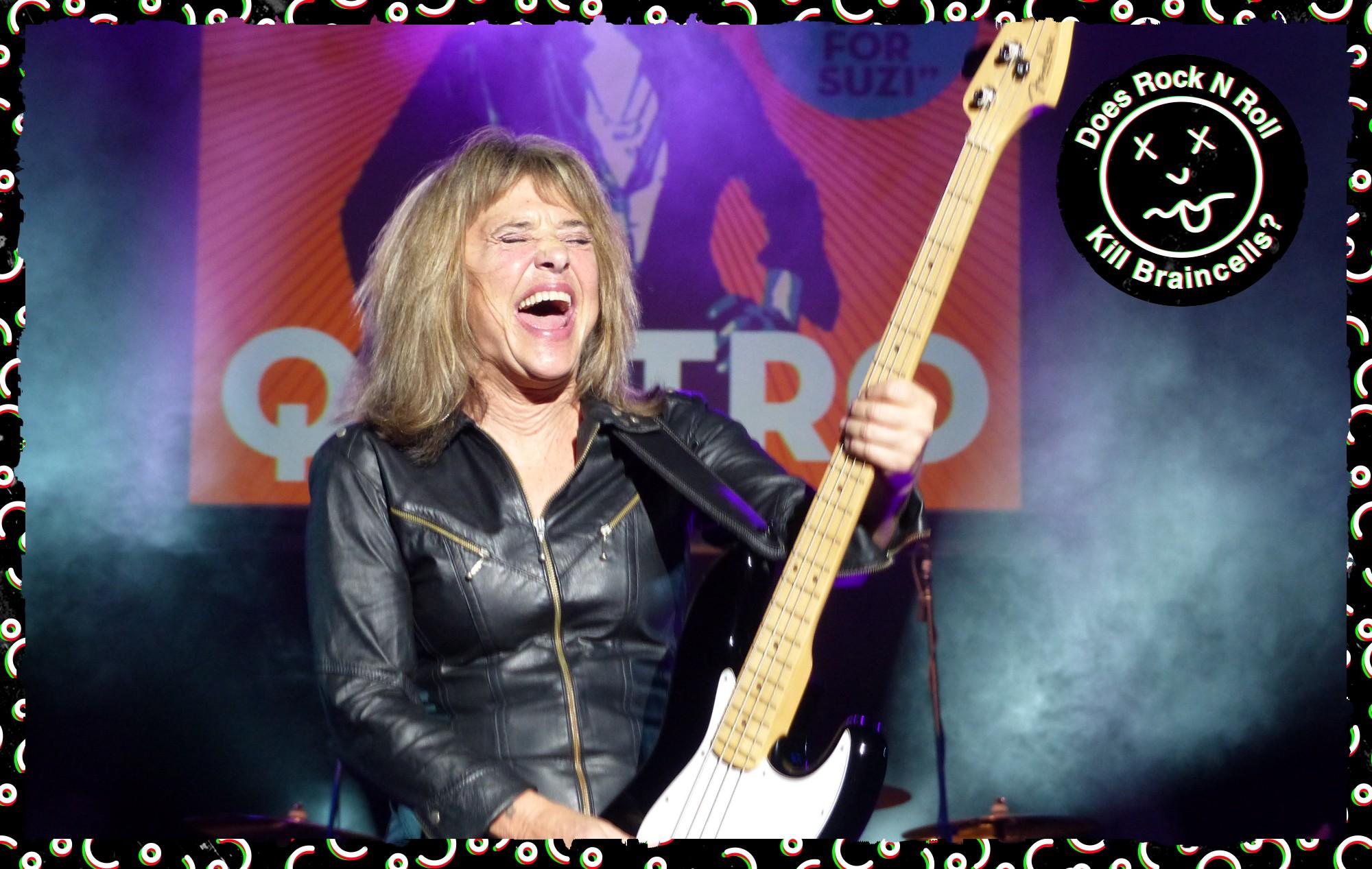 Suzi Quatro Does Rock 'N' Roll Kill Braincells?! - NME interview