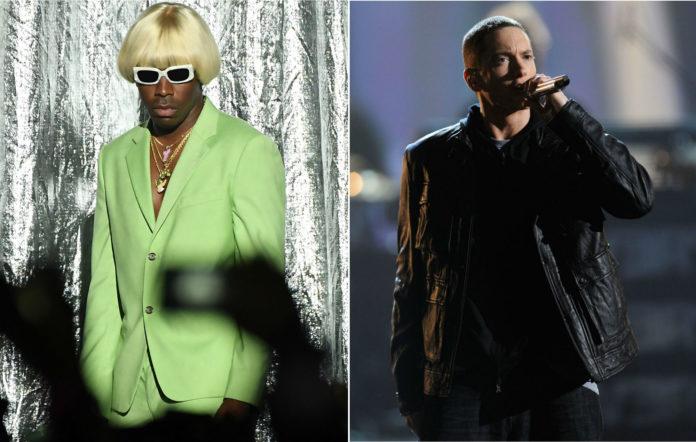 Tyler, The Creator has broken his silence on Eminem's previous homophobic slur