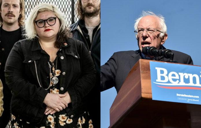 Sheer Mag, Bernie Sanders