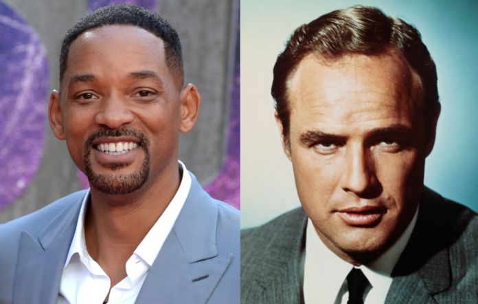 Will Smith is thinking about the idea of starring alongside Marlon Brando