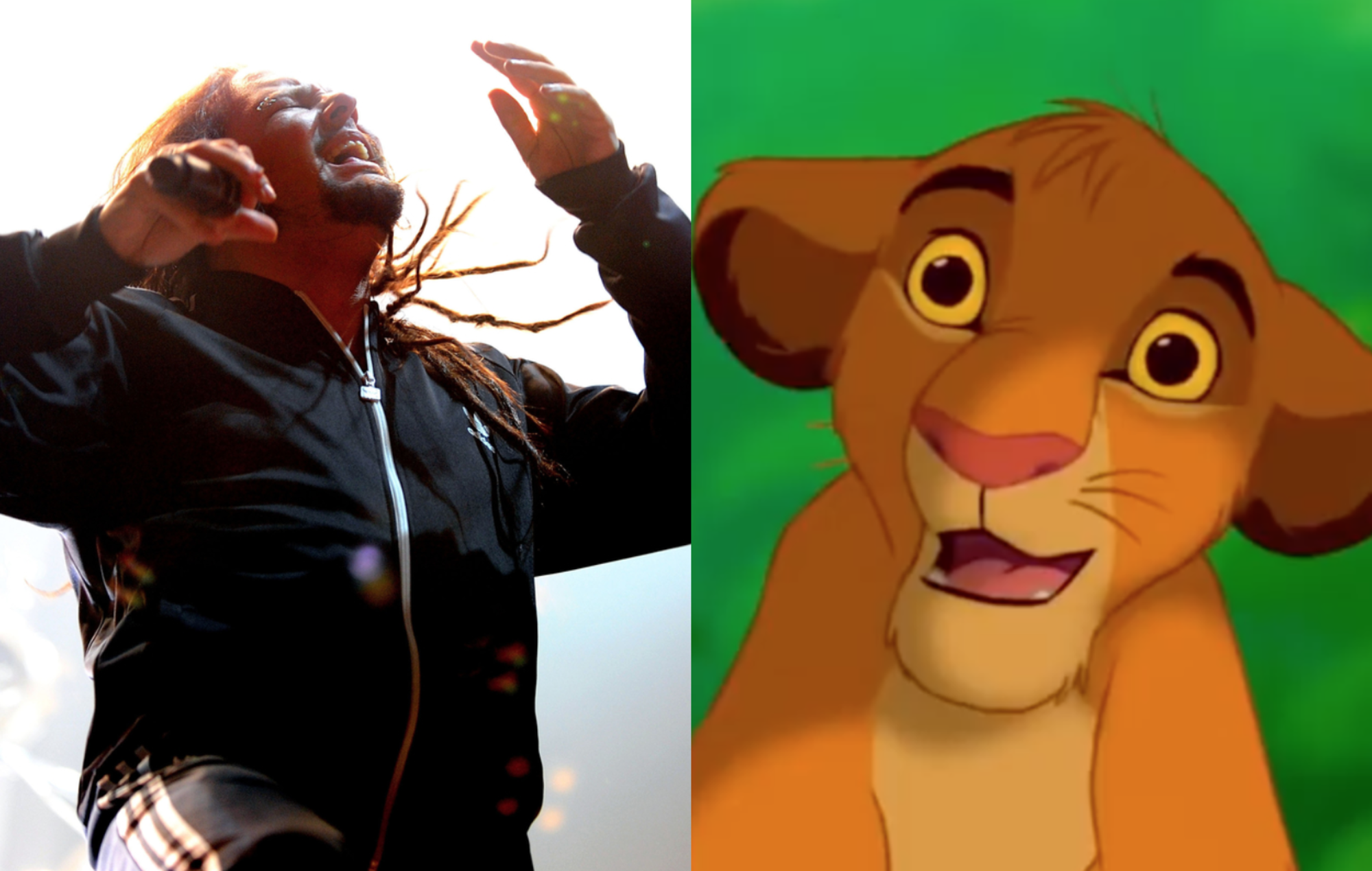 Korn and Simba