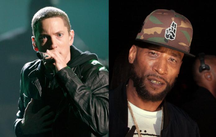 Eminem and Lord Jamar