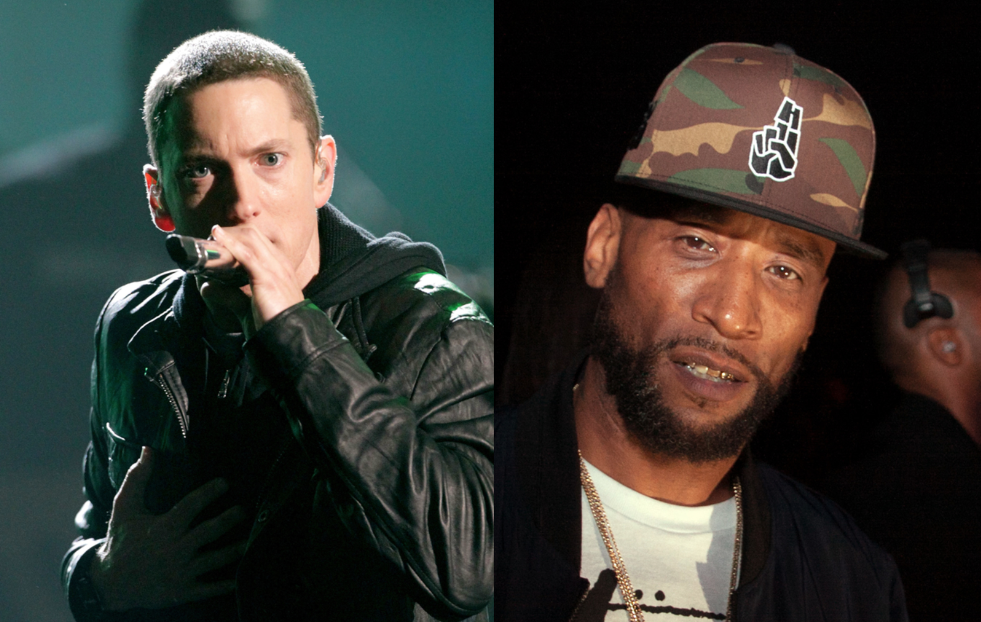 Eminem responds to Lord Jamar's claims that white rappers are guests in hip-hop