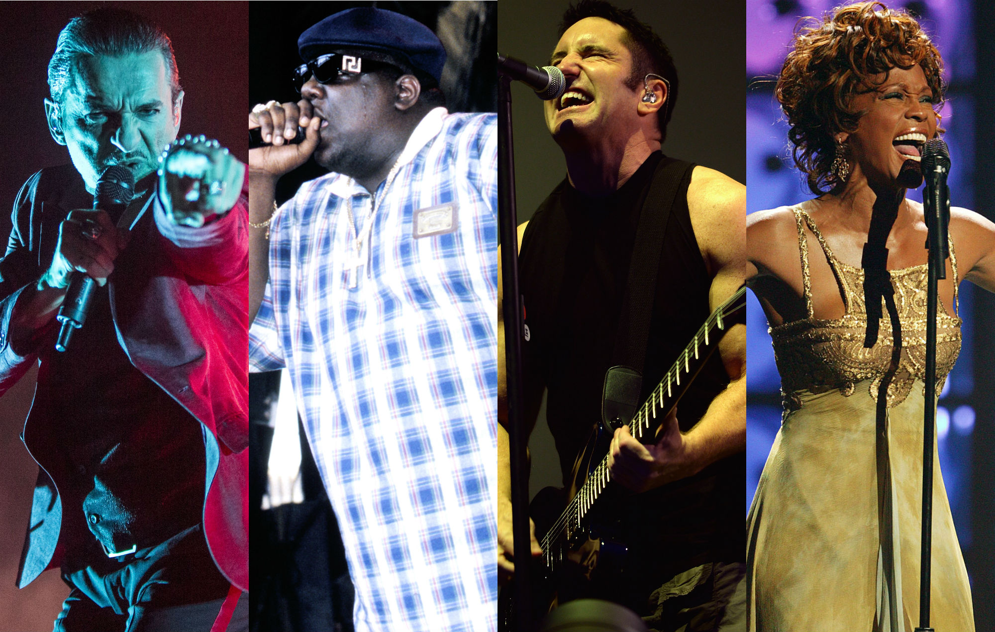 Depeche Mode, Notorious B.I.G., Nine Inch Nails and Whitney Houston lead the nominations for the Rock And Roll Hall Of Fame 2020