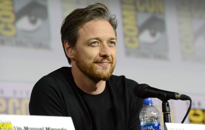James McAvoy at the His Dark Materials panel and Q&A during 2019 Comic-Con International at San Diego Convention Center