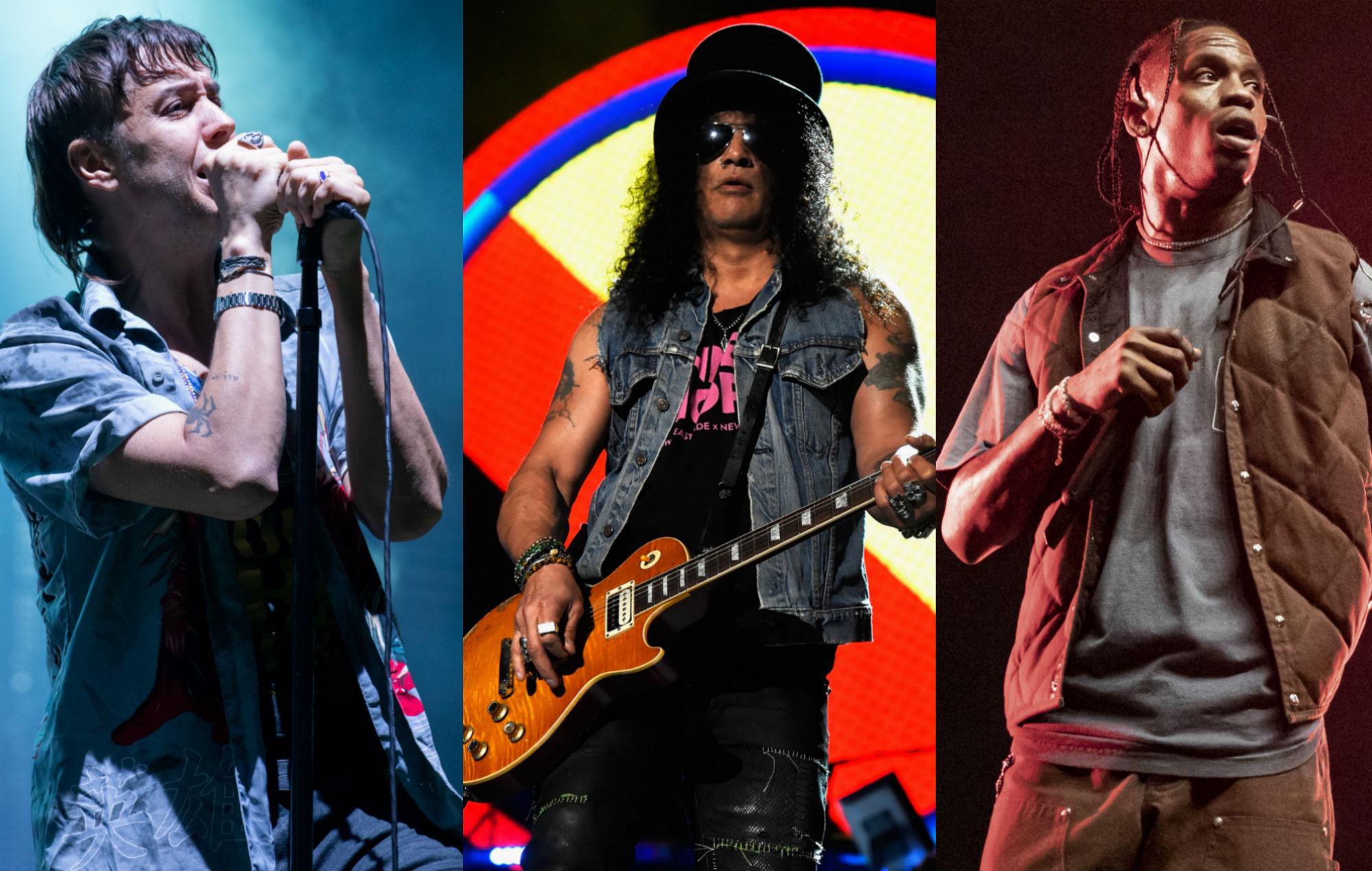 The Strokes / Guns N' Roses / Travis Scott