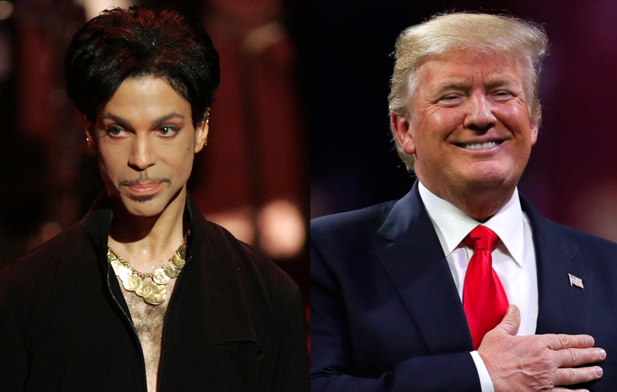 Prince estate Donald Trump Purple Rain Minneapolis rally