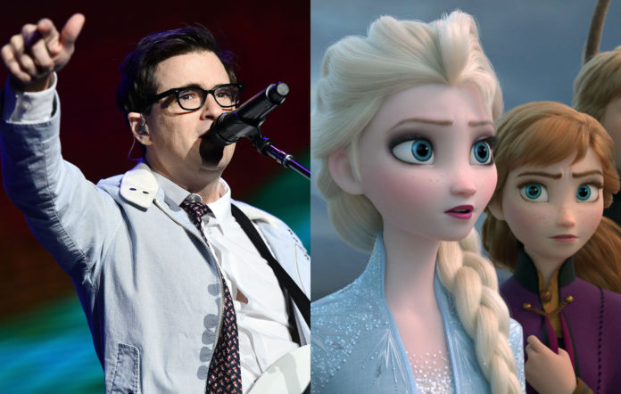 Weezer cover Frozen 2 song sequel movie soundtrack Kacey Musgraves Panic at the Disco