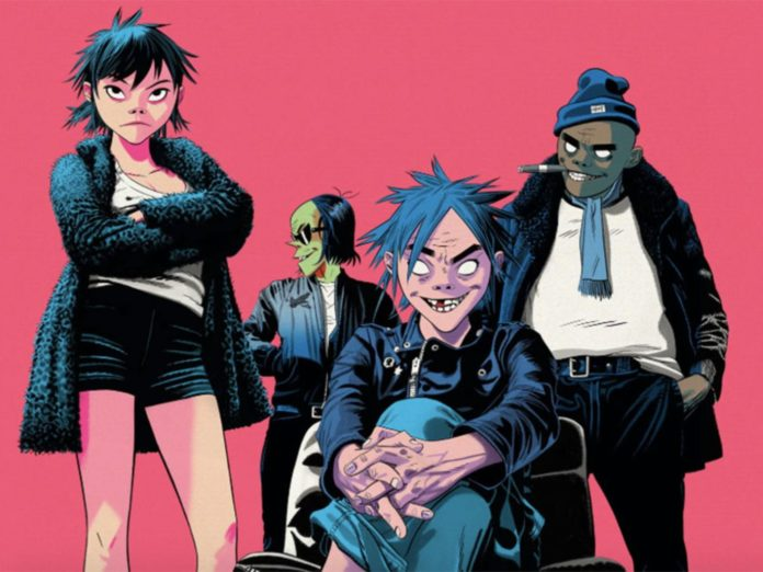 Gorillaz Tour 2020.Reject False Icons Watch The Trailer For Gorillaz New