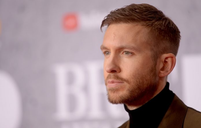 Calvin Harris at the BRIT Awards 2019 - VIP Arrivals