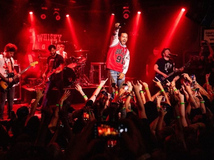 """Green Day, Fall Out Boy and Weezer Celebrate """"Hella Mega Tour"""" Announcement With Historic Show at Whisky A Go Go"""