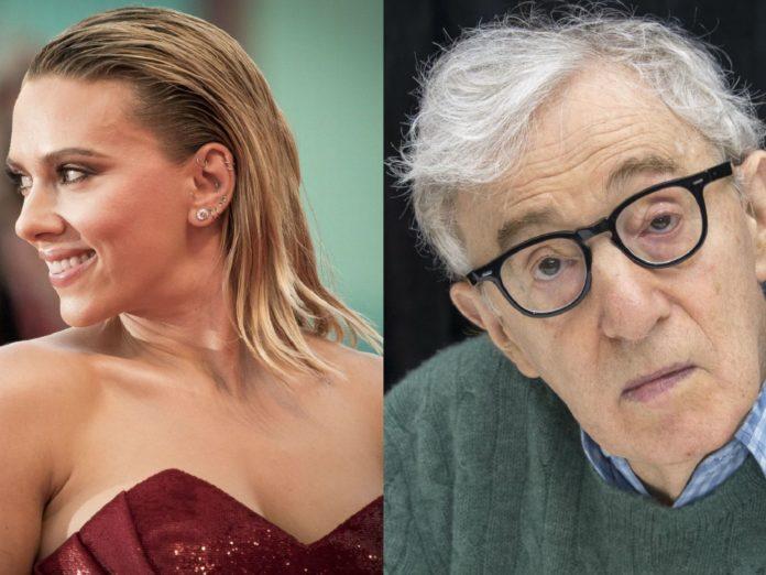 Scarlett Johansson and Woody Allen