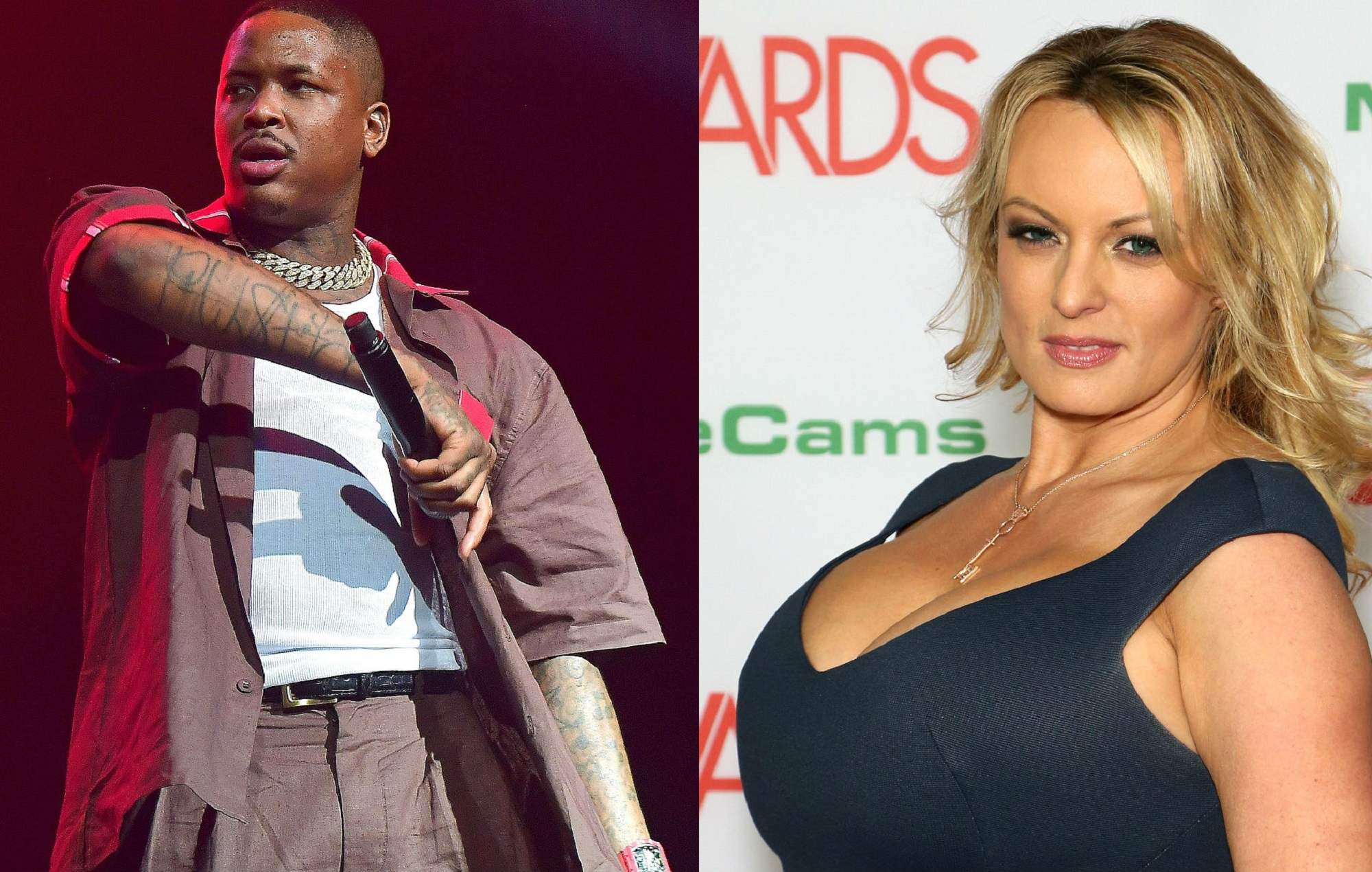 YG and Stormy Daniels