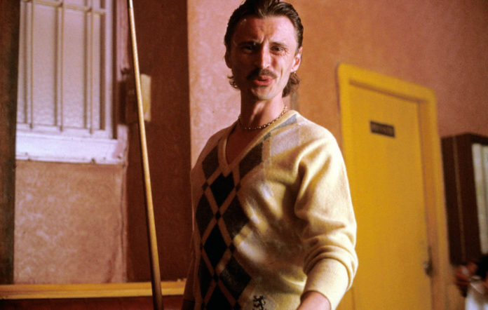 Robert Carlyle as Begbie in Trainspotting (1996)