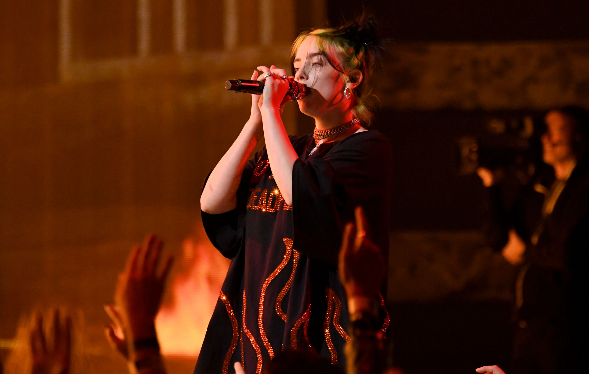 Billie Eilish has opened up about the making of her latest single