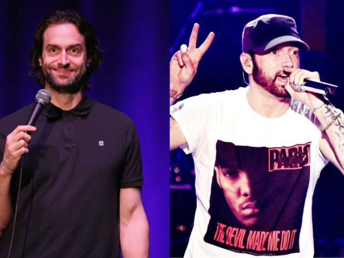 Chris DElia describes meeting Eminem