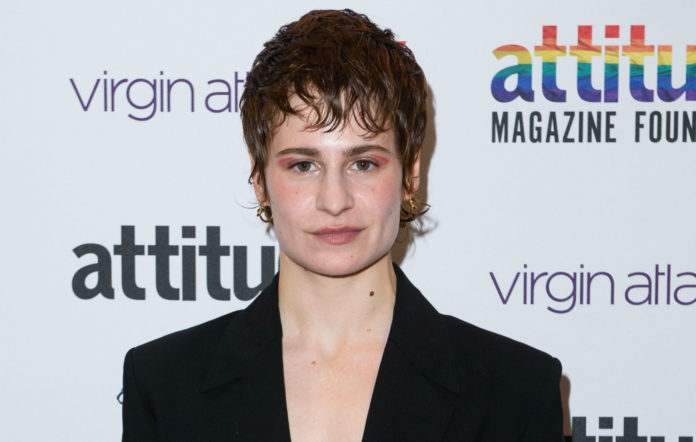 Watch Christine and The Queens transform into a drag queen
