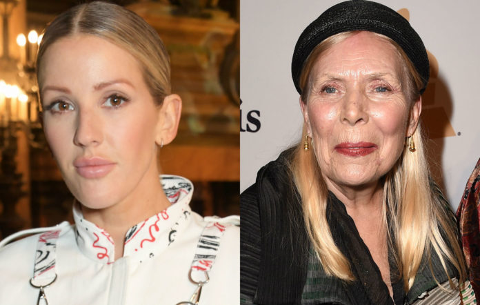 Ellie Goulding and Joni Mitchell