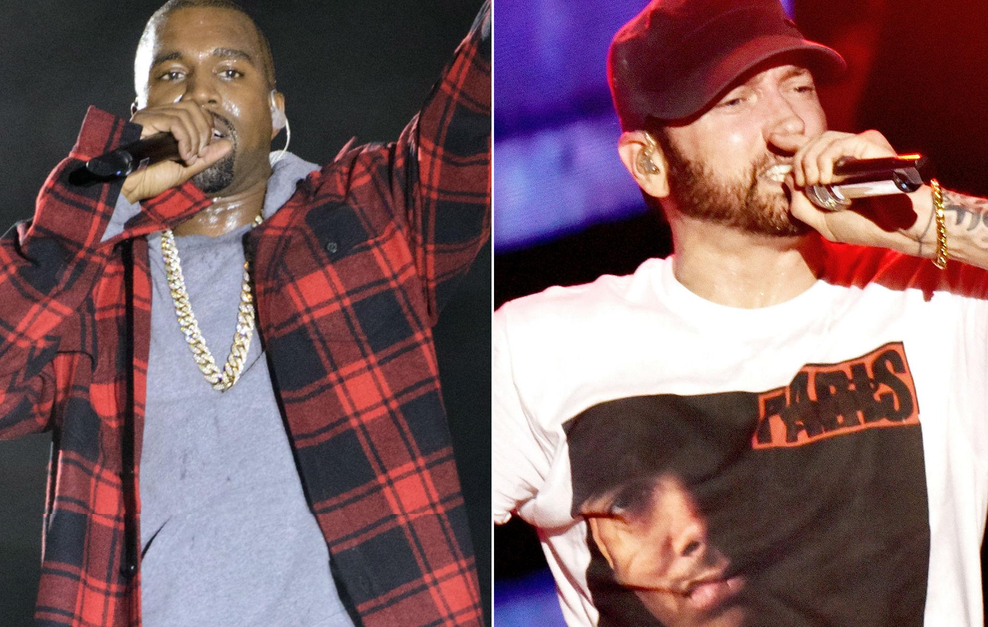 Eminem Kanye