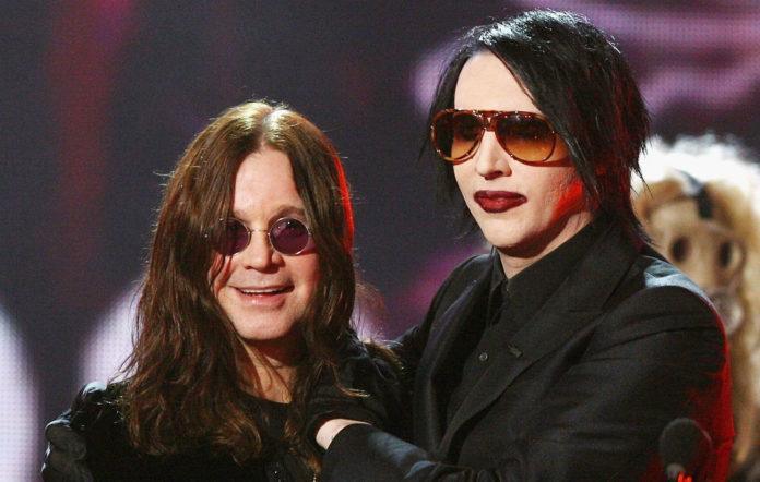 Ozzy Osbourne and Marilyn Manson