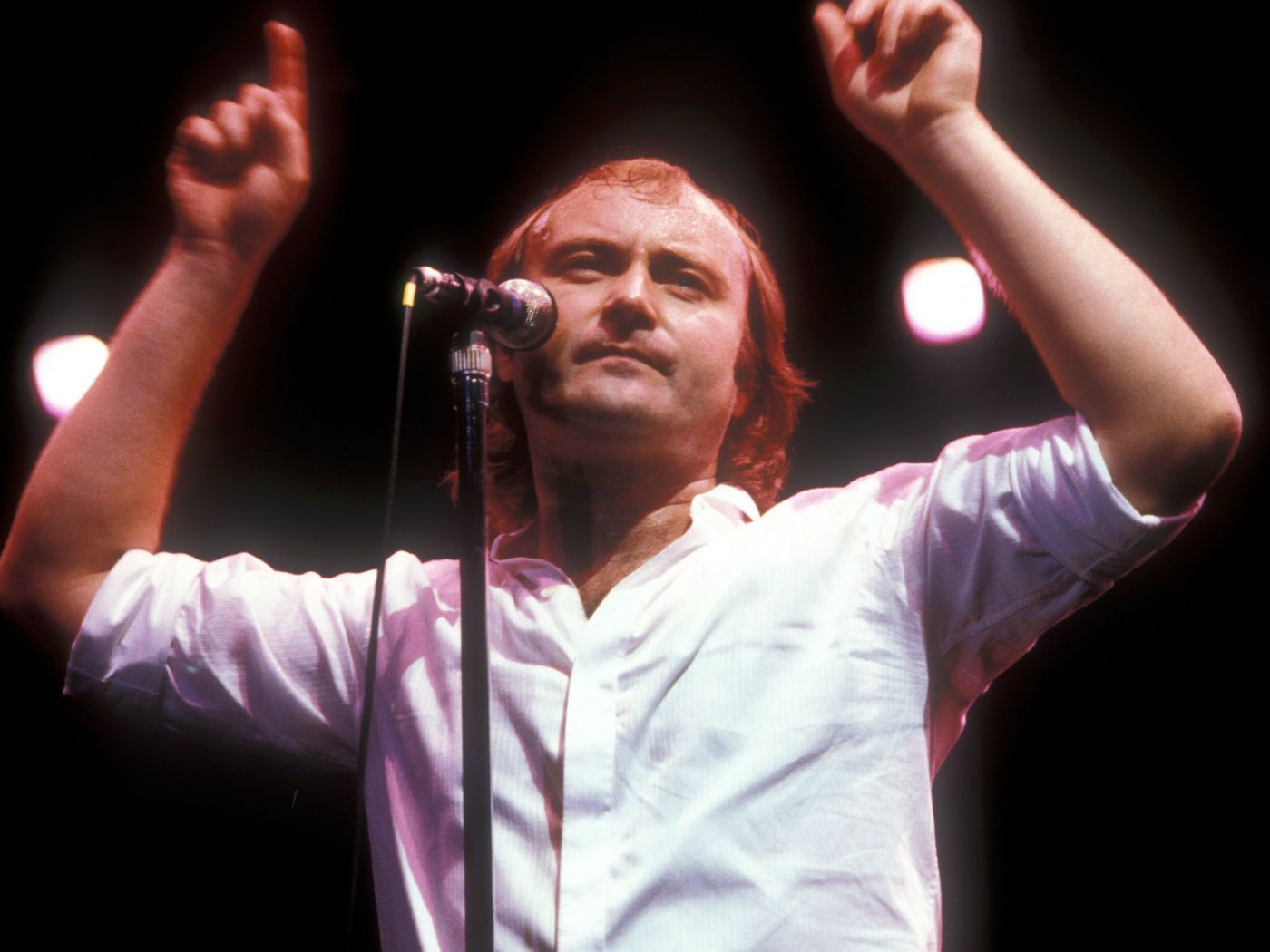 """Phil Collins on his disastrous Led Zeppelin performance: """"If I could have walked off, I would have done"""""""