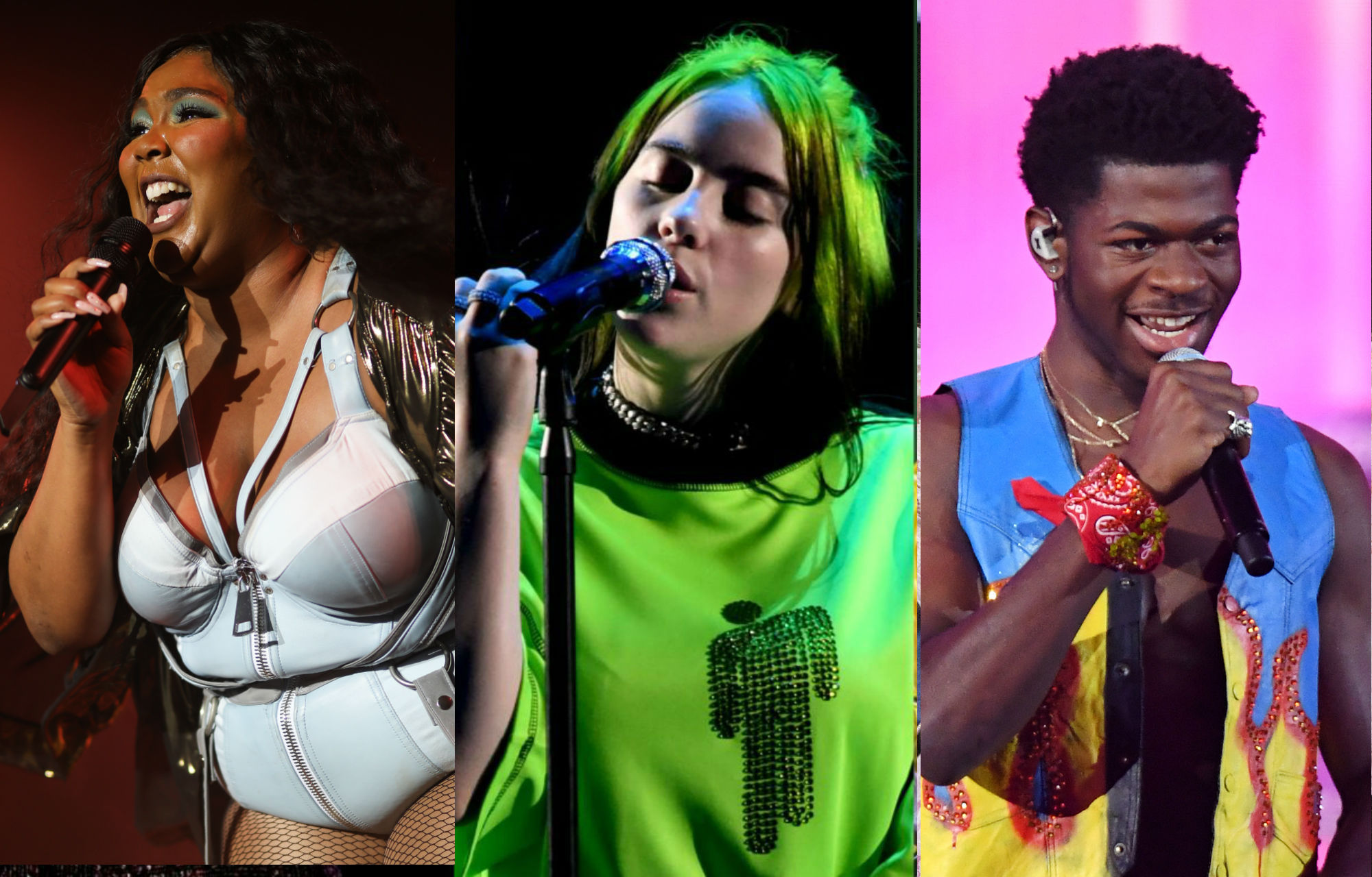 lizzo billie eilish lil nas x and ariana grande lead grammy nominations for 2020 nme lead grammy nominations for 2020