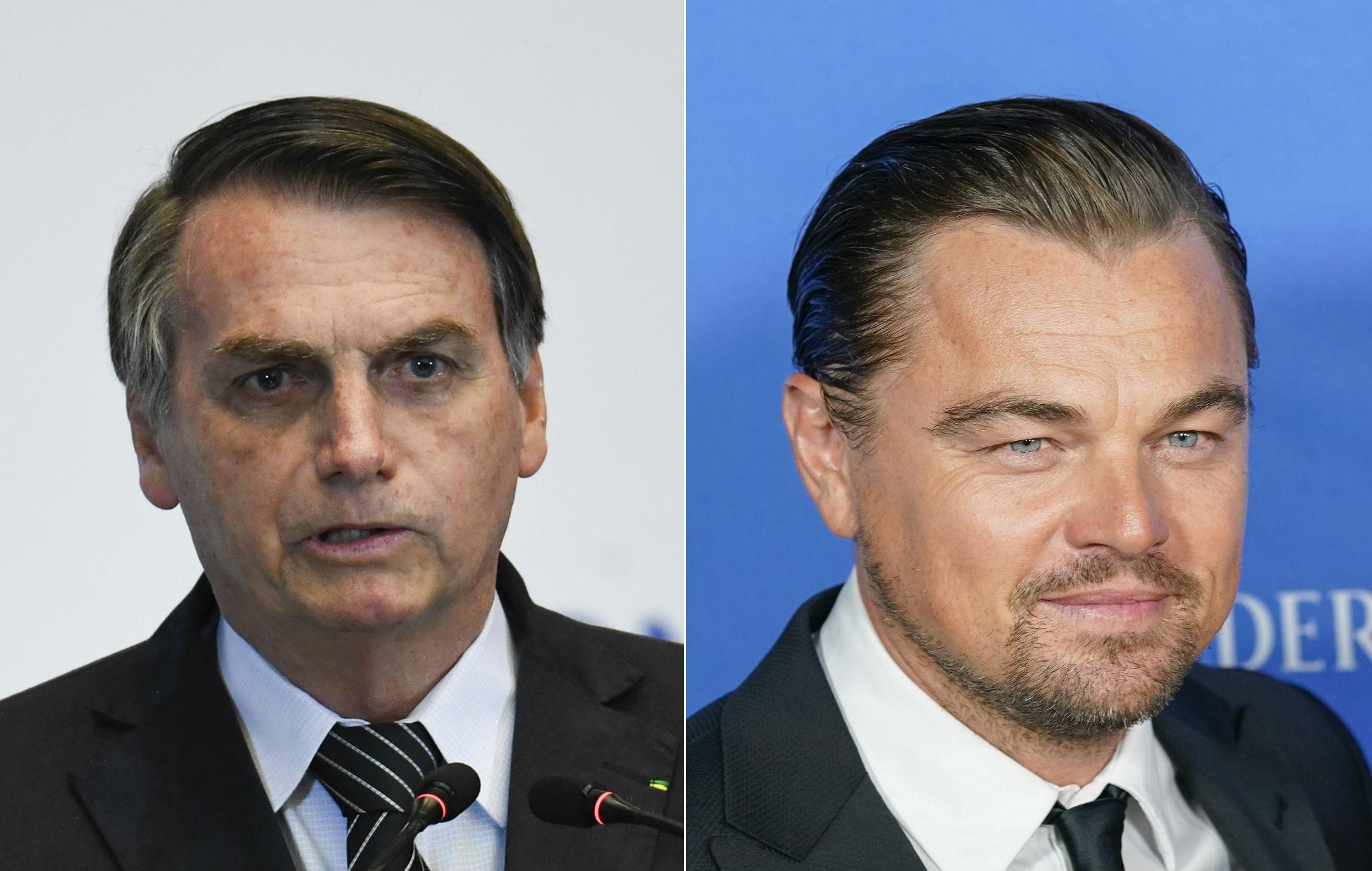 Jair Bolsonaro Leonardo DiCaprio
