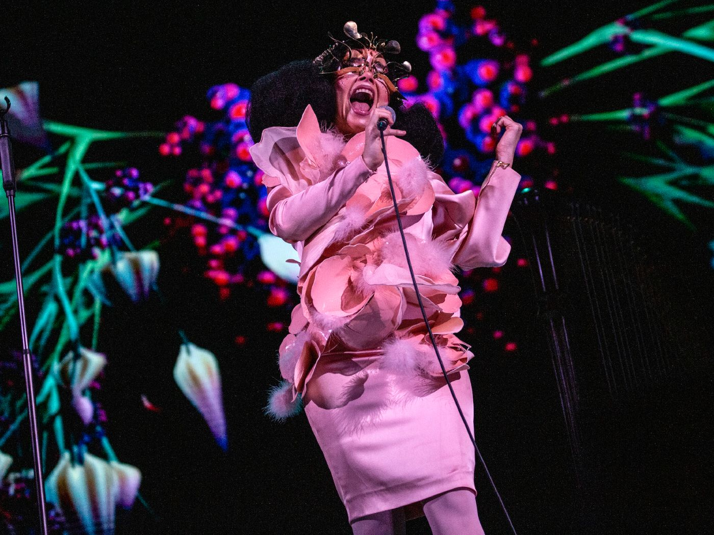 Björk's 'Cornucopia' live in London: an audacious, expectation-disrupting spectacular from an artist unbothered with people-pleasing