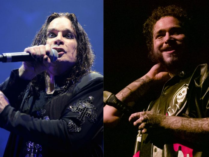 Watch Ozzy Osbourne make surprise live return with Post Malone