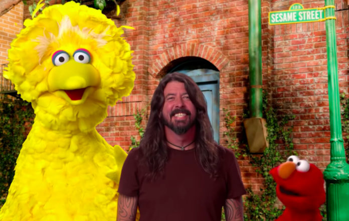 Dave Grohl on 'Sesame Street'