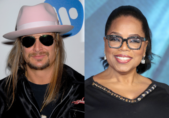 Kid Rock and Oprah Winfrey