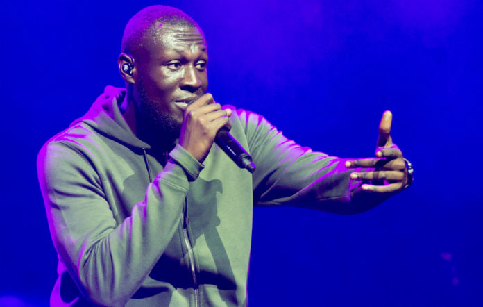 Stormzy performing live
