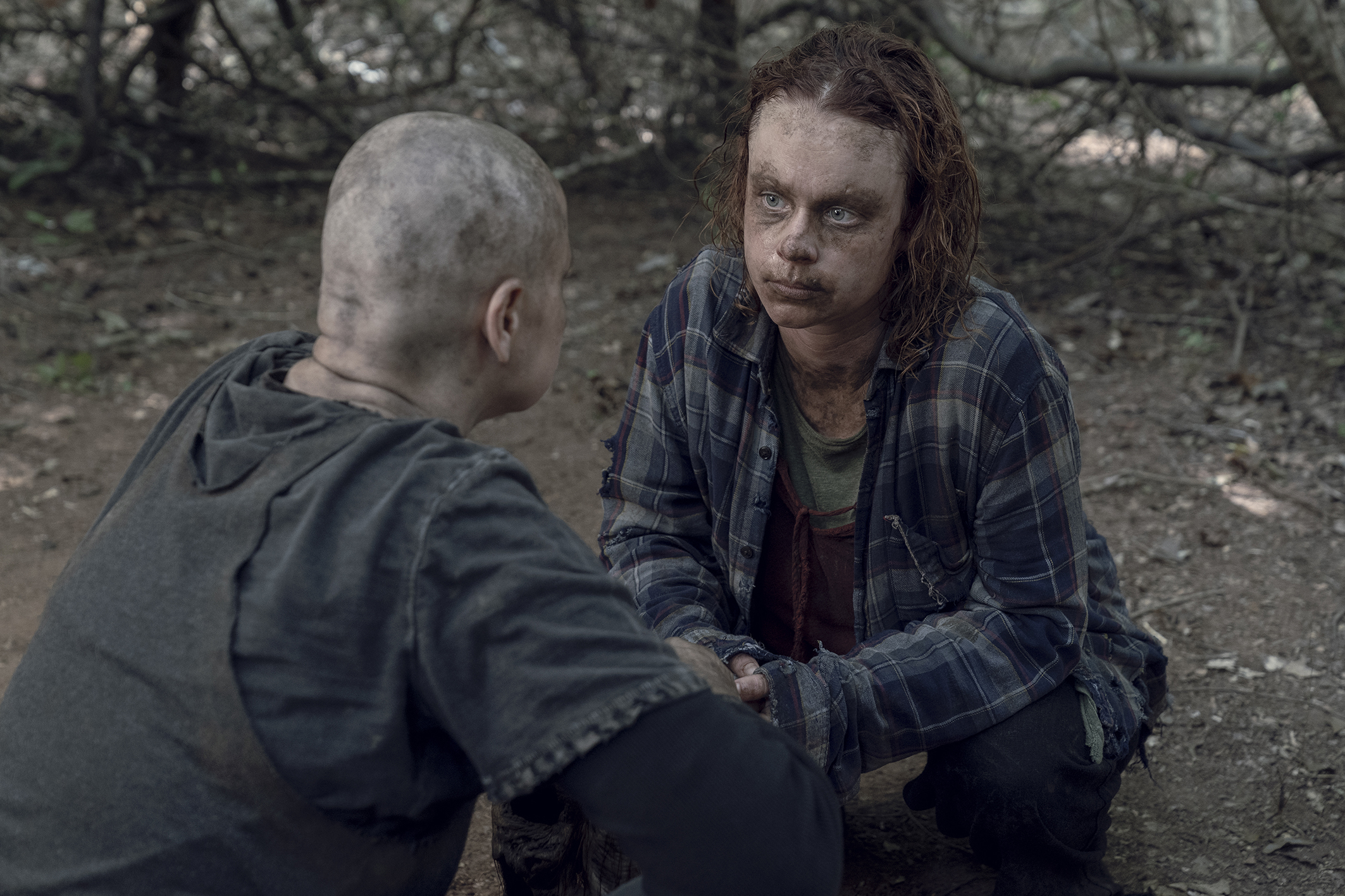 Alpha and Gamma in 'The Walking Dead'