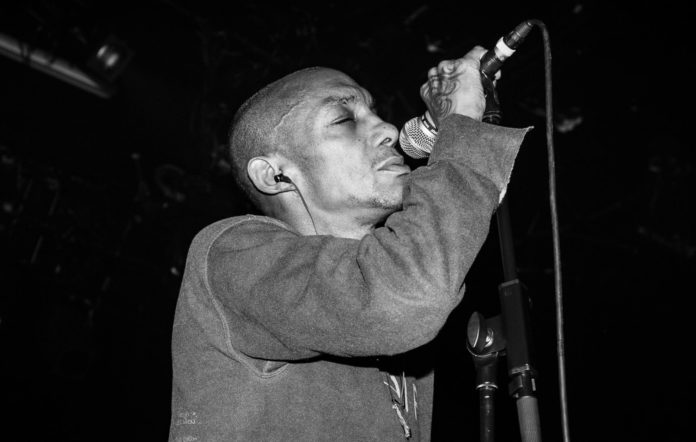 Tricky performing live in Paris