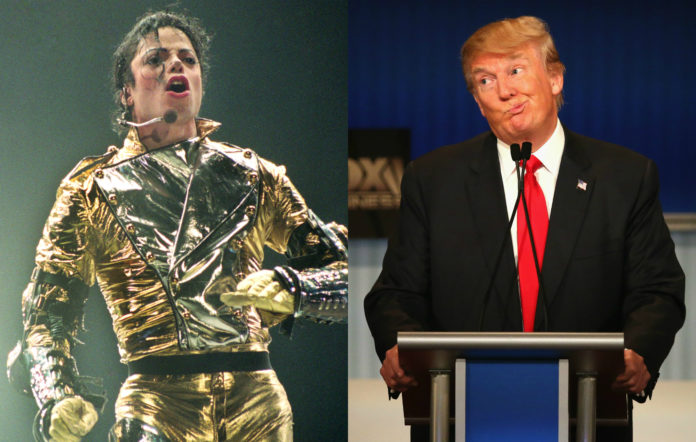Michael Jackson and Donald Trump
