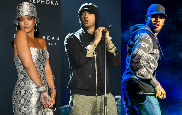 Rihanna, Eminem, and Chris Brown