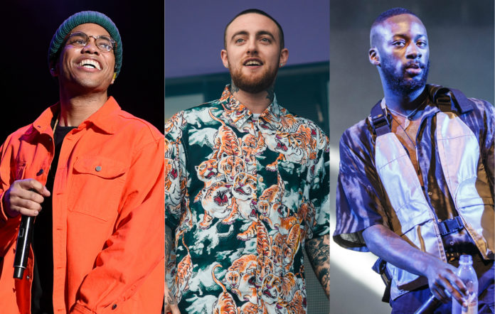 Anderson .Paak Mac Miller and GoldLink