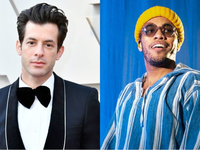 Mark Ronson and Anderson .Paak